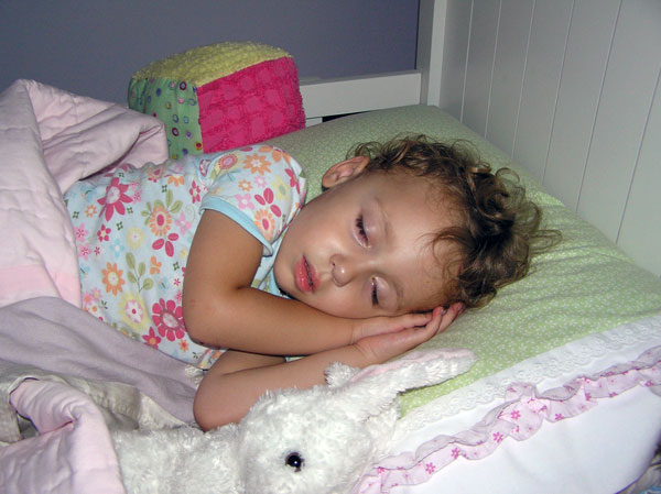 Brooklyn Sleeping, Age 2