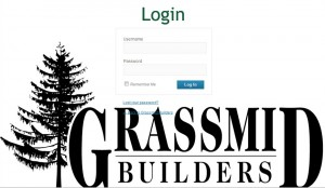login into a content management system to manage your website